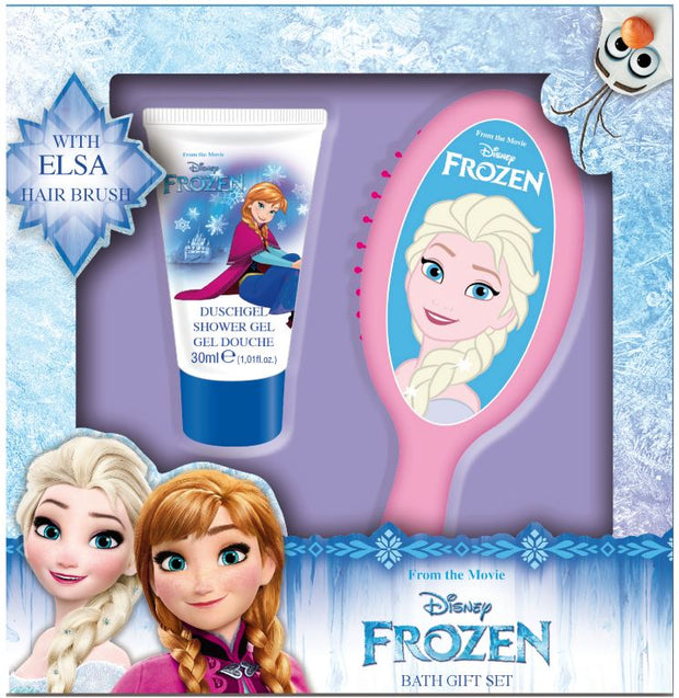 Disney FROZEN Beauty Hair Brush & Shower Gel Set