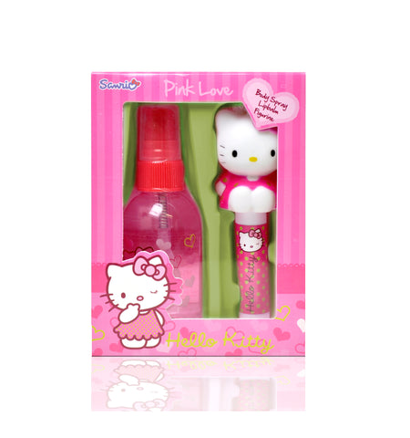 HELLO KITTY Pink Love Body Spray & Lipbalm Set