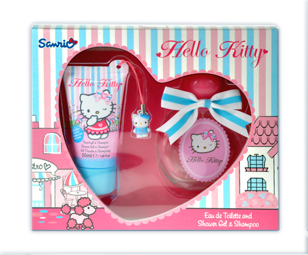 HELLO KITTY Boutique Eau de Toilette & Shower Gel Gift Set