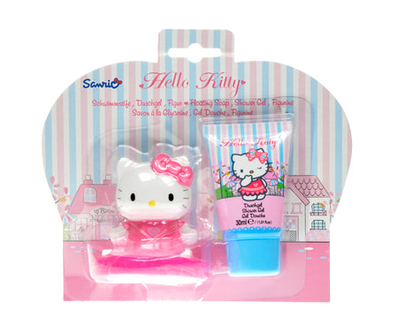 HELLO KITTY Boutique Floating Soap & Shower Gel set