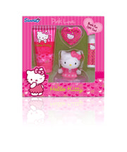 HELLO KITTY Pink Love Bath Fun Gift Set