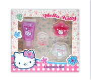 HELLO KITTY Dotty Floral Lipgloss Set
