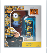 Despicable Me 3 Bath Fun Gift Set with water squirter
