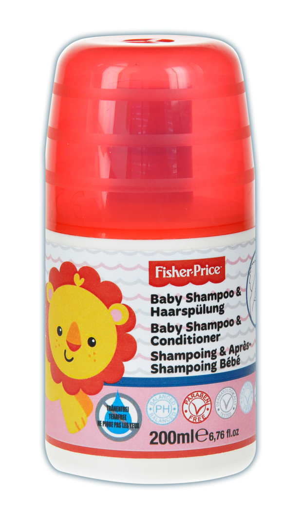 FISHER-PRICE Baby Shampoo & Conditioner 200ml