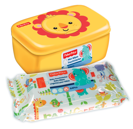 FISHER-PRICE Wet Wipes with Dispenser