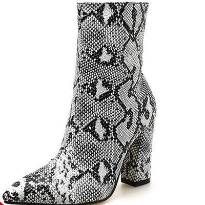 Ankle Boots Square heel