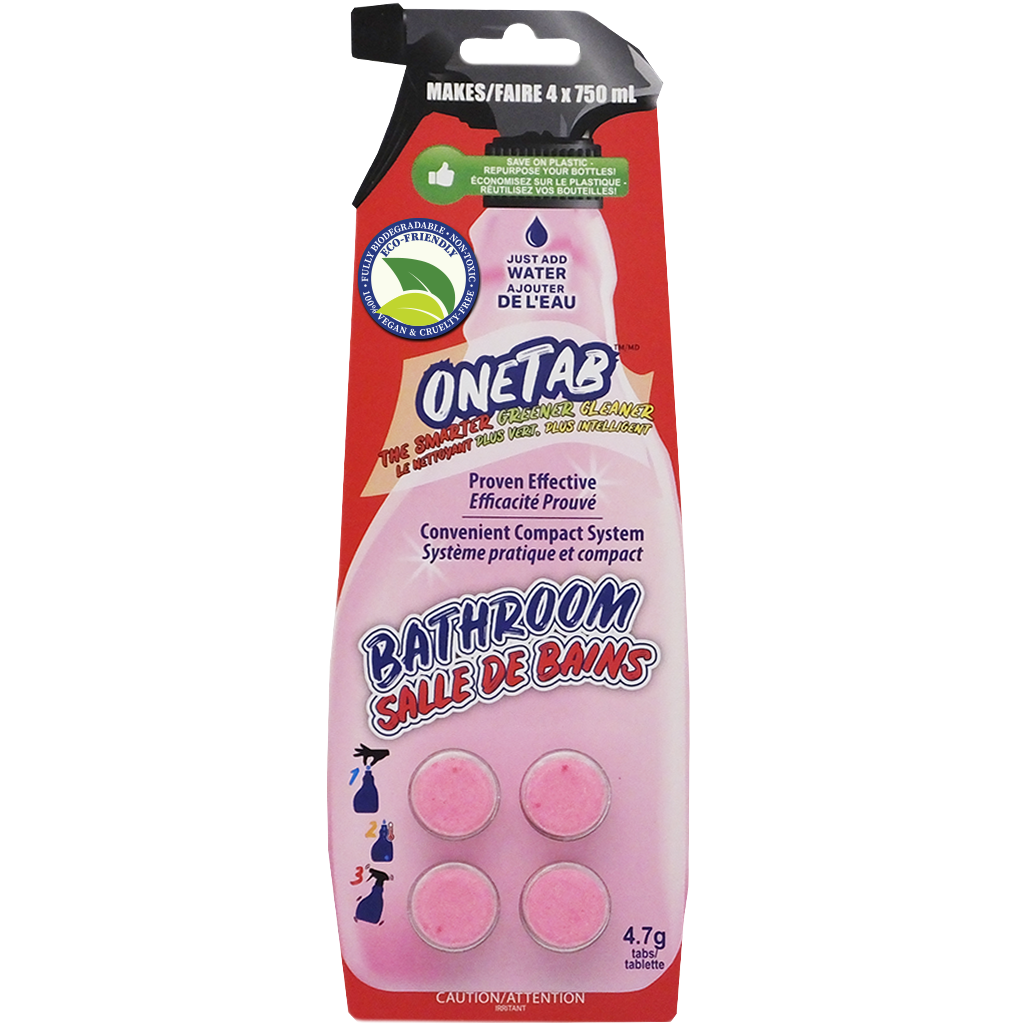 OneTab Bathroom Cleaning Tabs from SurfaceScience