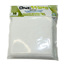 Load image into Gallery viewer, OneWipe Washable yet Disposable Microfibre Wipes | from SurfaceScience - 10 pack