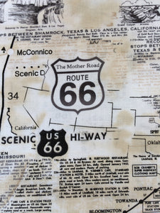 Yoga Mat Bag / Route 66