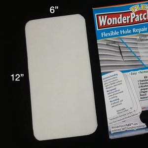 "WonderPatch FLEX 6"" x 12"" Hole Repair Patch"