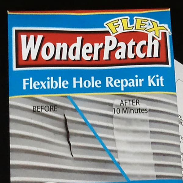 WonderPatch FLEX Hole Repair Kit