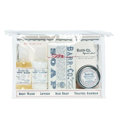 Barr-Co Original Scent Travel Set