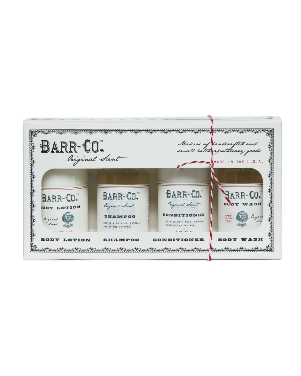 Barr-Co 4 Pc Bath/Body Gift Set