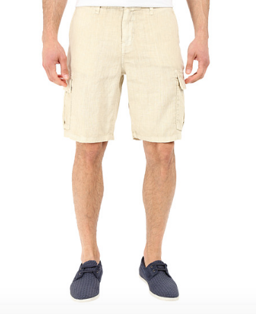 True Grit Sunset Linen Shorts
