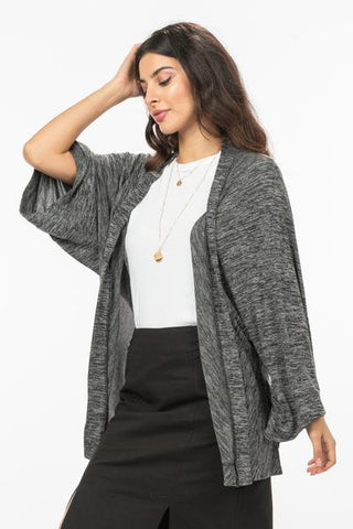 Very J Wide Sleeved Cardigan