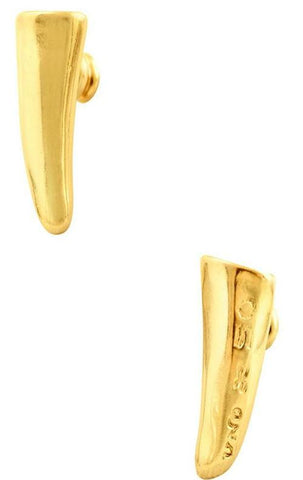 Golden Horn Earrings