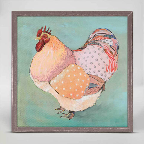 Greenbox Patchwork Rooster