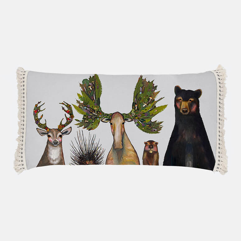 Greenbox The Forest Five Pillow