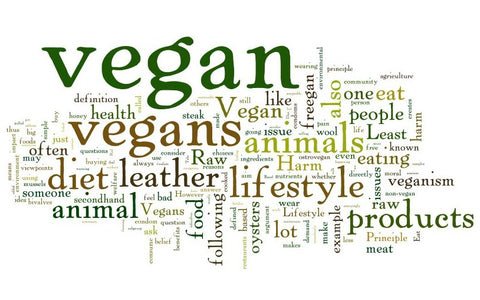 vegan words