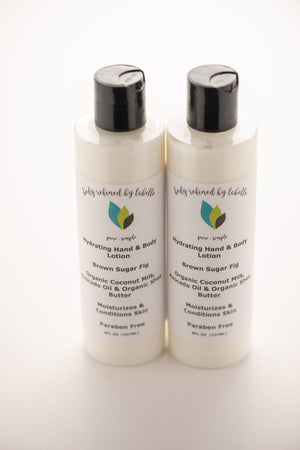 Brown Sugar Fig Hand and Body Lotion