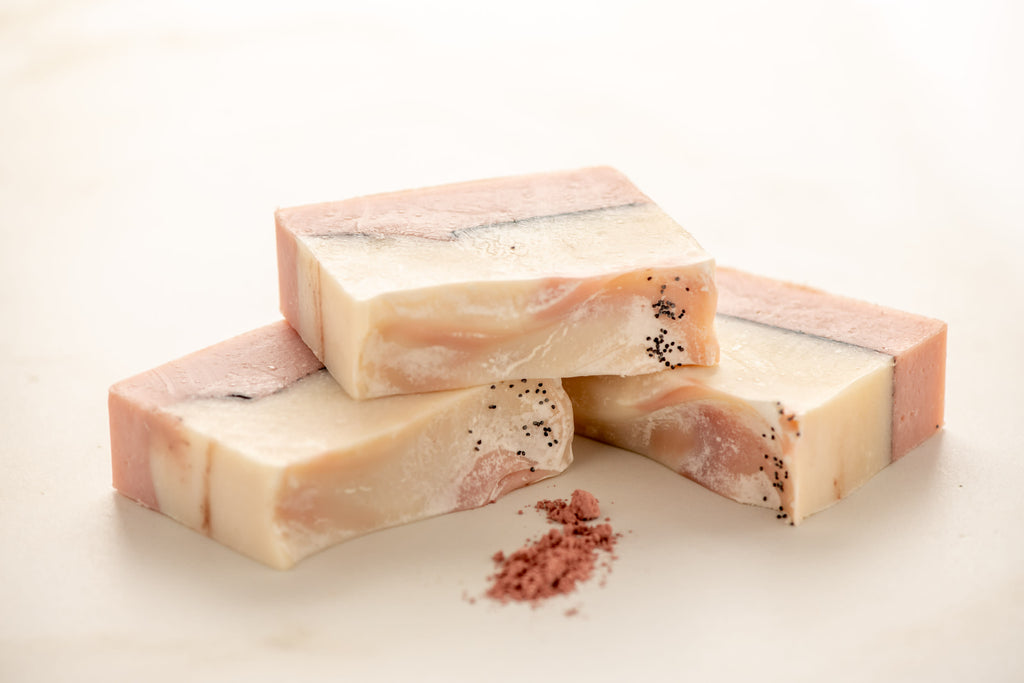 Pomegranate with Poppy Seeds Soap | Vegan Soap