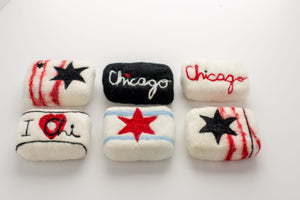 Chicago Felt Soaps | Palm Free Soap | Cold Process Soap
