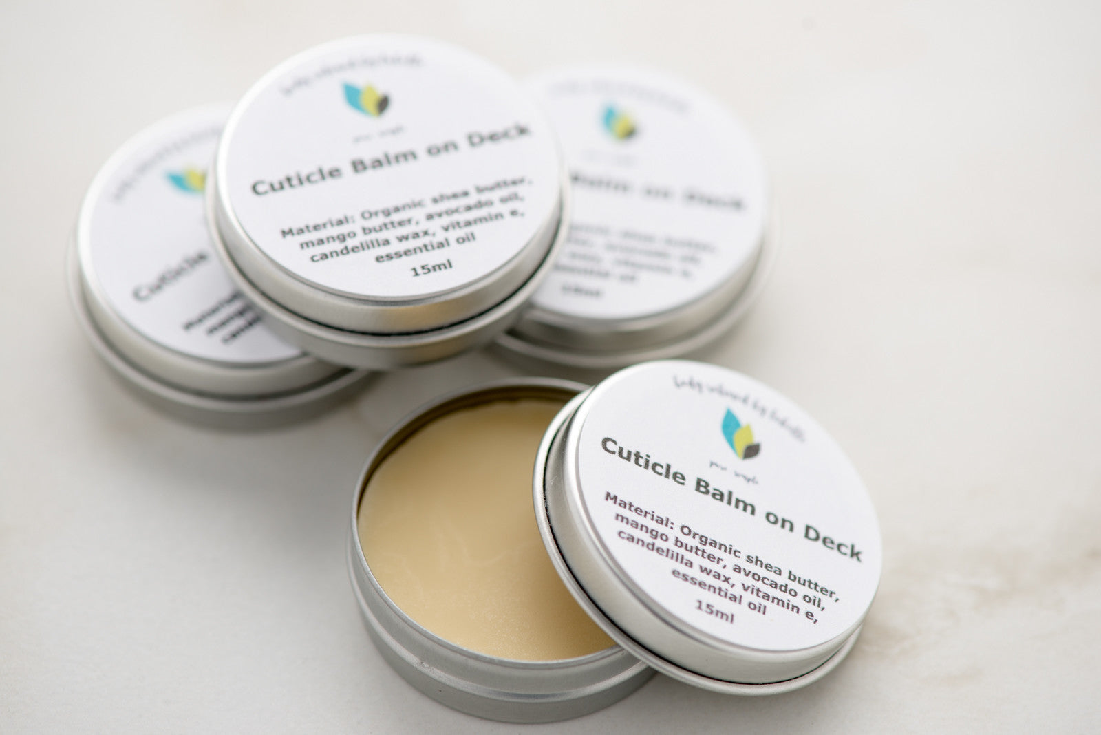 Lime Cuticle Balm on Deck | Vegan