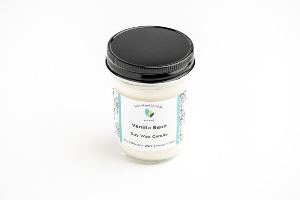 Wooden Wick Soy Candles | 8oz