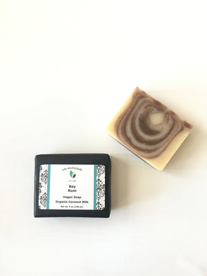 Bay Rum Palm Free Soap | Vegan Soap