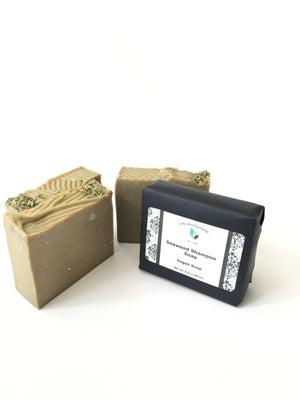 Seaweed Shampoo Soap Bar | Vegan Soap