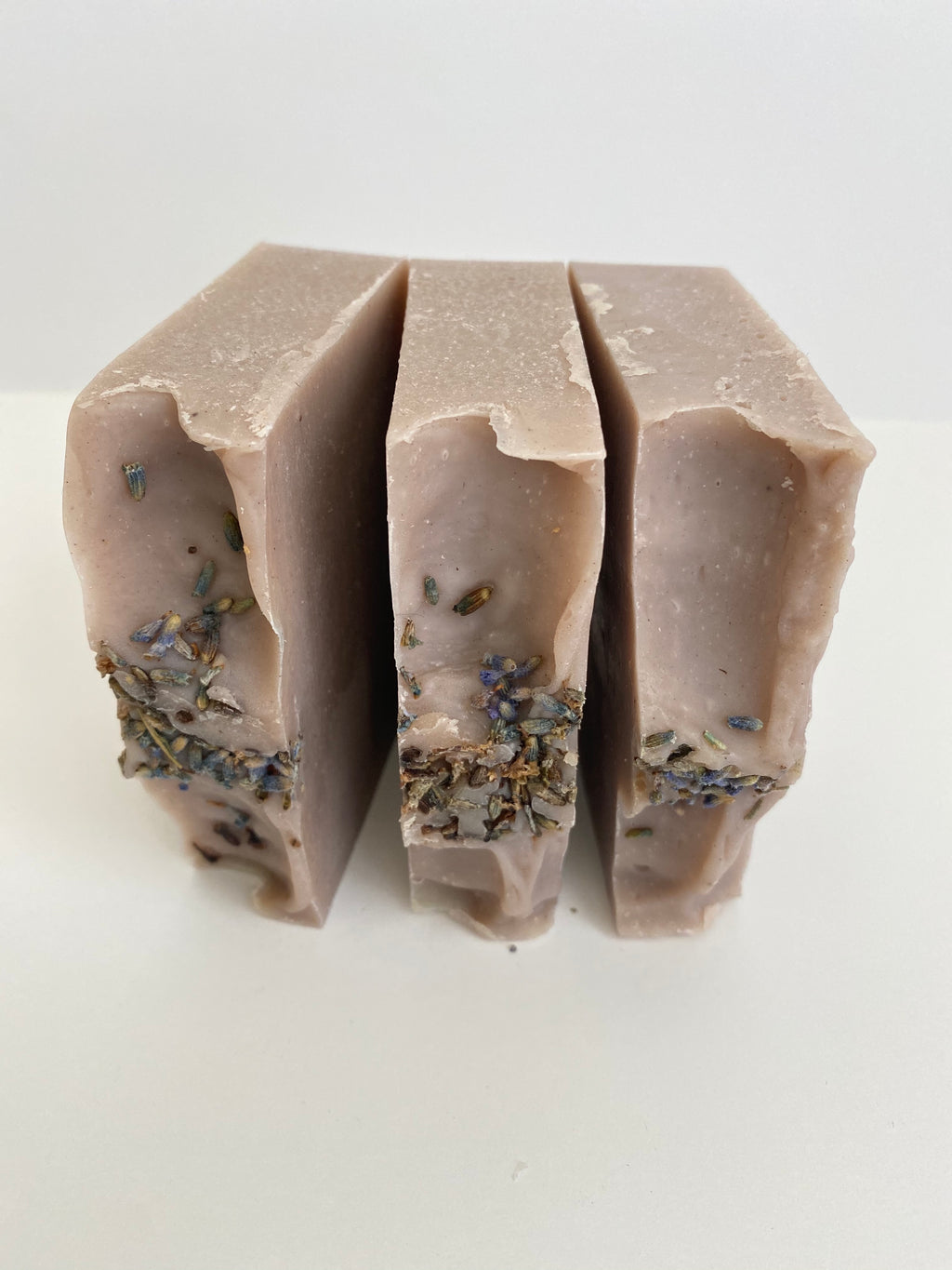 Patchouli and Lavender w/ Lavender Flowers Essential Oil Soap  | Vegan