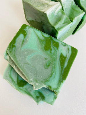 Unscented Winter Cold Process Vegan Soap
