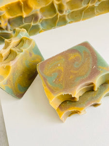 Oak Barrel Spice Cold Process Soap