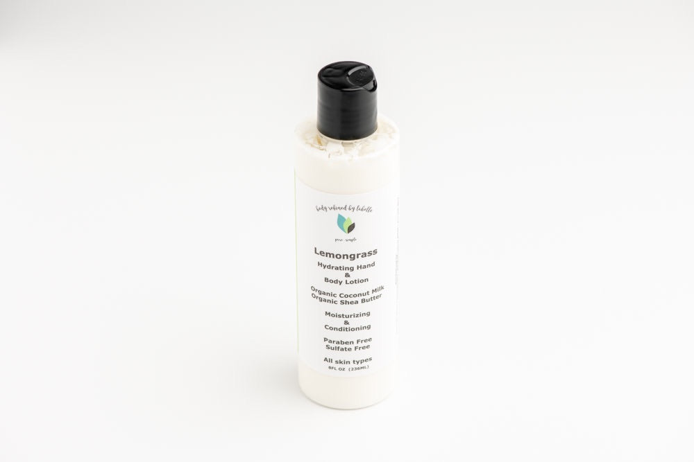Lemongrass Coconut Milk Body Lotion