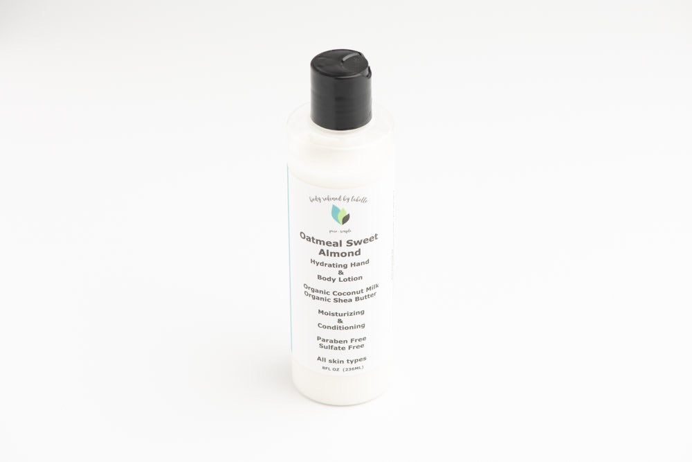Oatmeal Sweet Almond Hand & Body Lotion | Vegan | with Coconut Milk