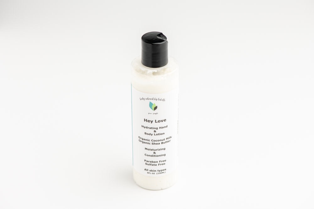 Hey Love Hand & Body Lotion | Vegan | with Coconut Milk
