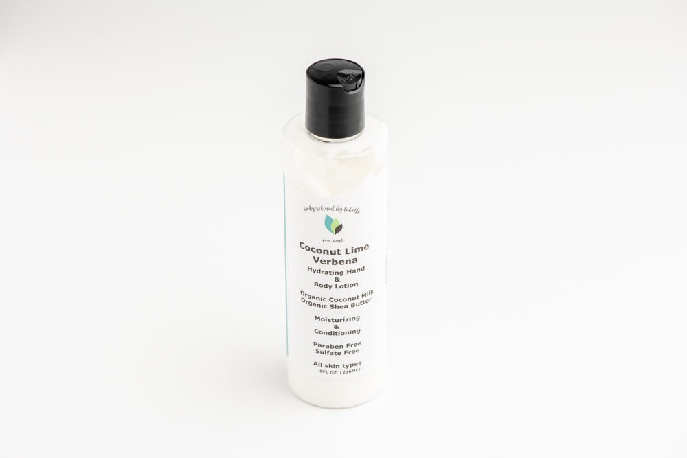Coconut Lime Verbena Hand and Body Lotion