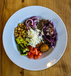Falafel Veggie Lodge Bowl