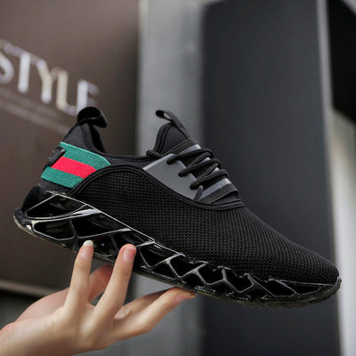 Running Shoes - New Breathable Men Cushioning Blade Sneakers ... 71e9c5431a67