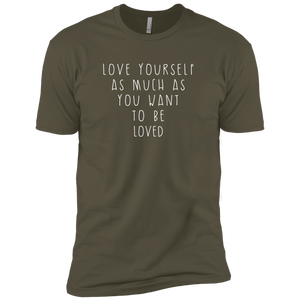 """Love Yourself"" Premium Unisex Tee - Moonsun Malibu"