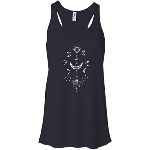 """Moonsun Aura"" Flowy Ladies' Tank - Moonsun Malibu"