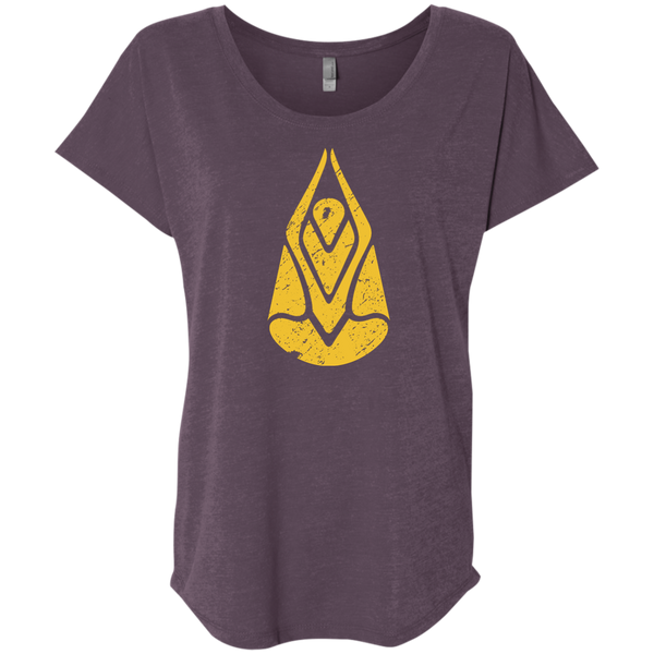 """Divine Connection"" Ladies' Triblend Tee - Moonsun Malibu"