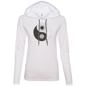 """Moonsun"" Ladies' T-Shirt Longsleeve Hoodie - Moonsun Malibu"