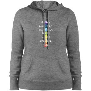 """Chakra Love"" Ladies' Pullover Hoodie - Moonsun Malibu"