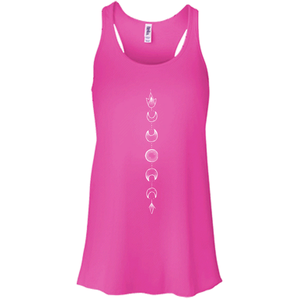 """Moon Cycle"" Flowy Ladies' Tank - Moonsun Malibu"
