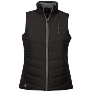 """Moon Cycle"" Ladies' Quilted Vest - Moonsun Malibu"