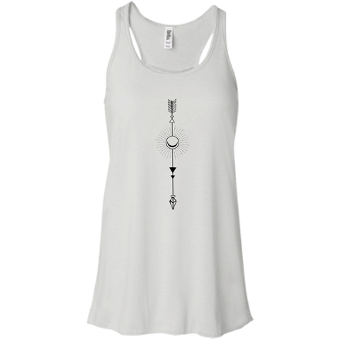 """Moon Arrow"" Flowy Ladies' Tank - Moonsun Malibu"
