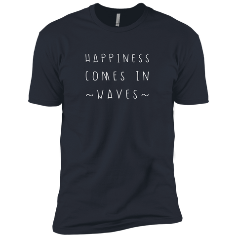 """Happiness Waves"" Premium Unisex Tee - Moonsun Malibu"