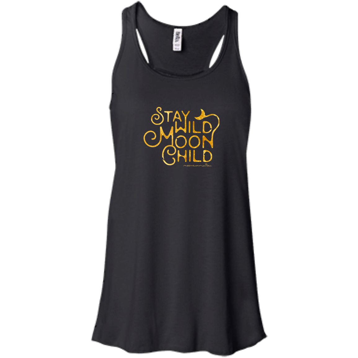 """Moon Child"" Flowy Ladies' Tank - Moonsun Malibu"