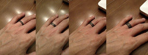 The Ranger Ultralight Men' Carbon Fiber Wedding Ring